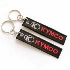Cheap Promotional Embroidery Key Ring Holders for Airline Company