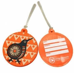 Promotional Budget Plastic Luggage Tags