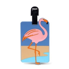 Customized Rubber Travel Luggage Tags in Bulk