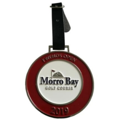 Customized 2019 Enamel Golf Bag Tags for Golf Course