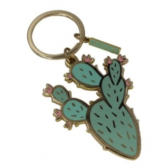 Custom Made Cactus Shape Key Ring Holders