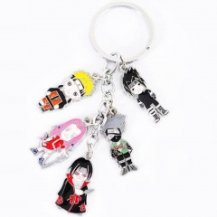 Hot Selling Naruto Animation Soft Enamel Keychains Wholesale